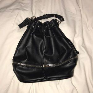 Black Bucket Bag/Backpack